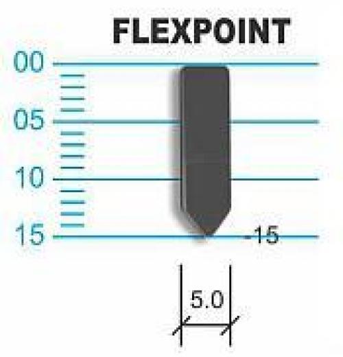 Grampos Flex Point (aço comum)